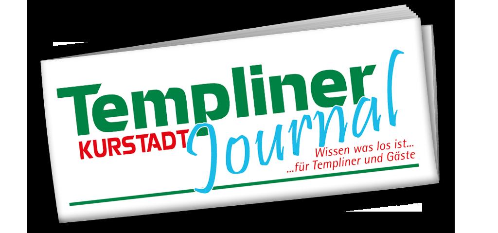 Templiner Kurstadt Journal Titel eingerollt