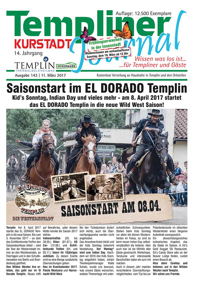 Templiner Kurstadt Journal 143 vom 11.03.2017