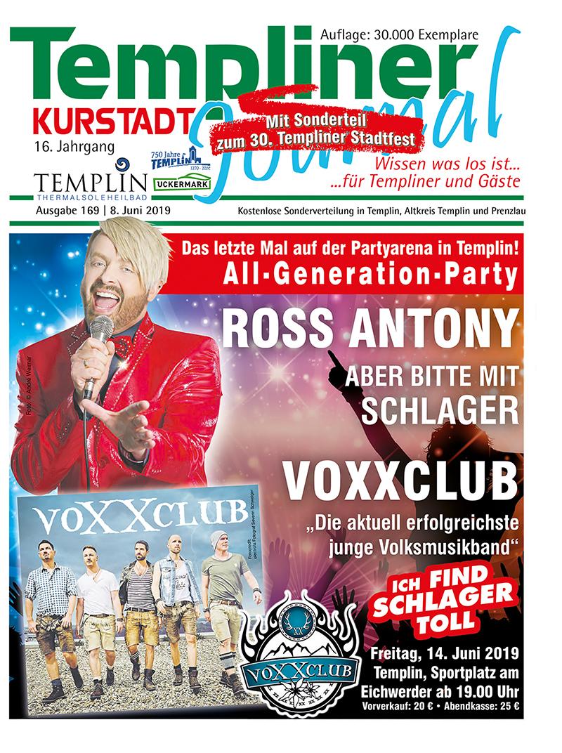 Templiner Kurstadt Journal 169 vom 08.06.2019