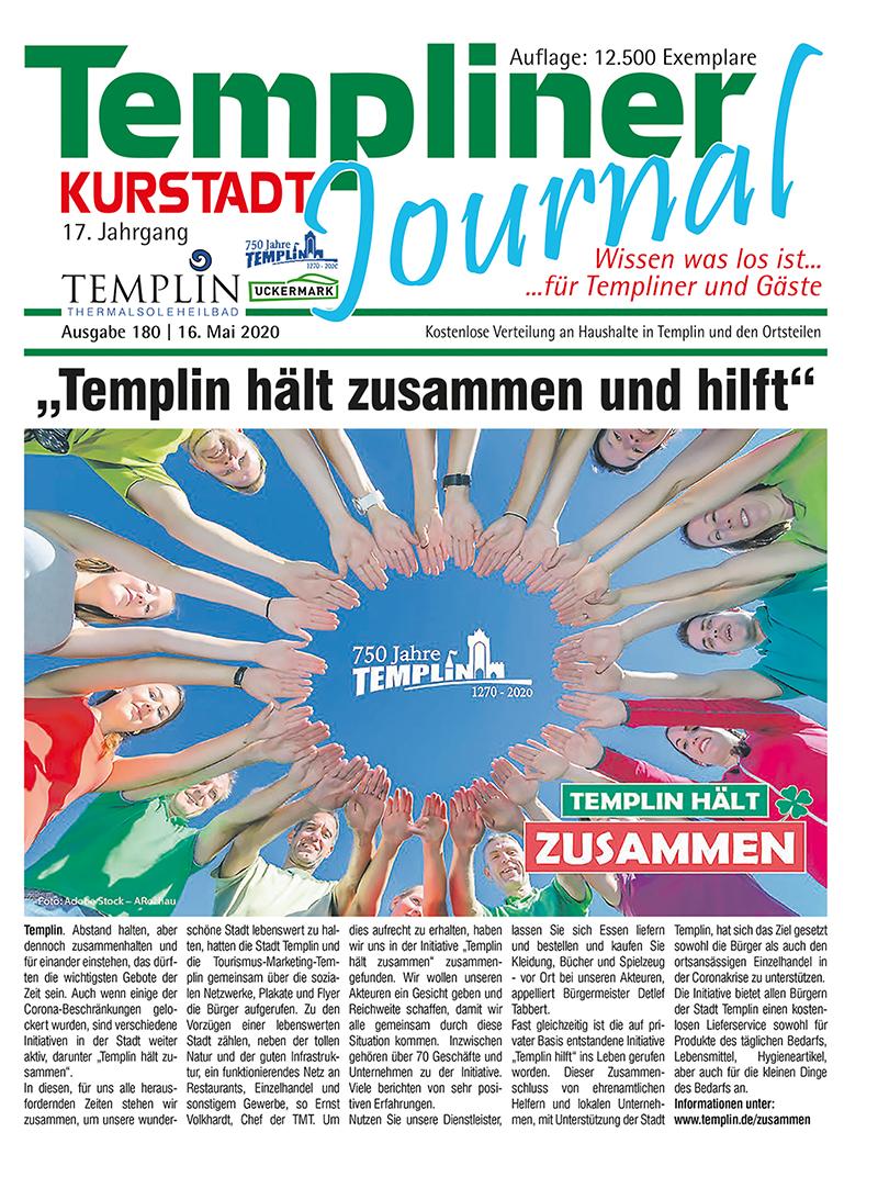 Templiner Kurstadt Journal 180 vom 12.05.2020