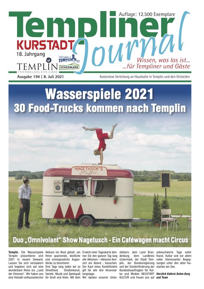 Templiner Kurstadt Journal 194 vom 08.07.2021